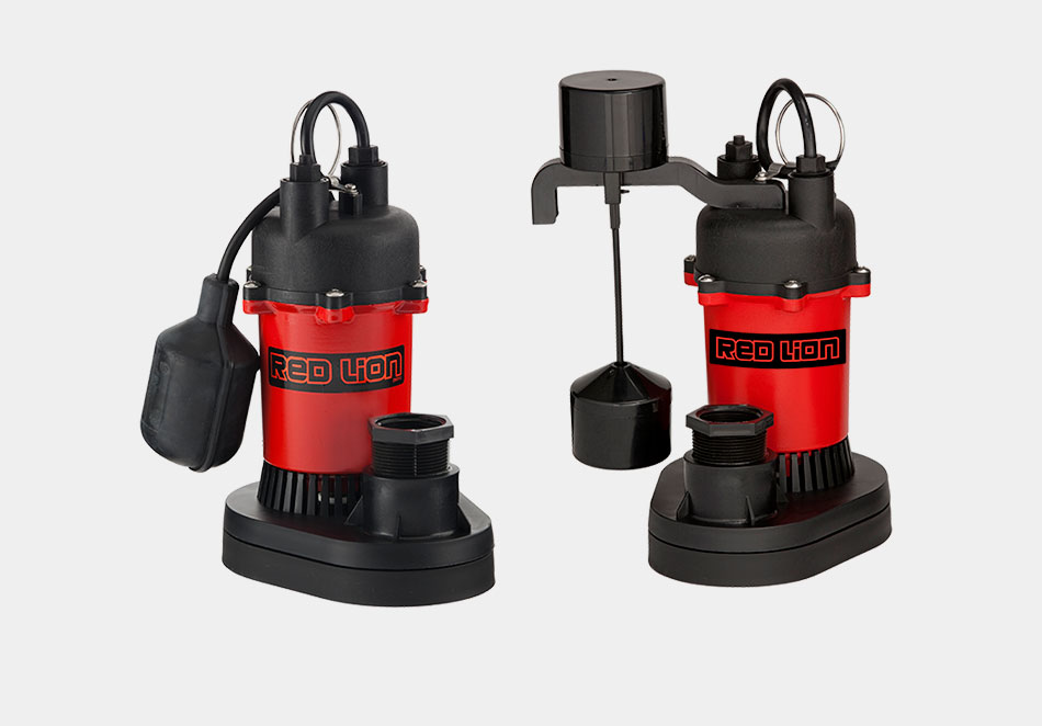 Thermoplastic Sump Pumps Red Lion