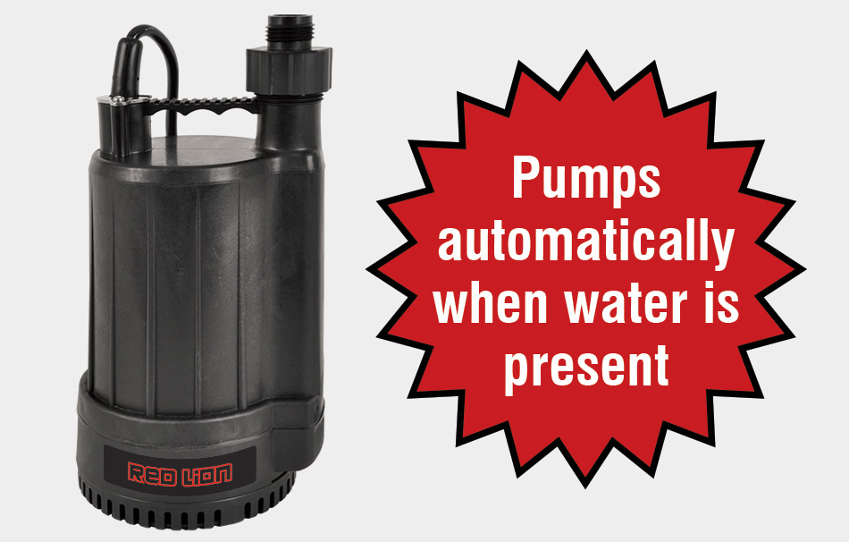 Automatic Utility Pump Rl Mp25a Red Lion