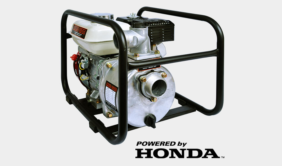 DISCONTINUED** 4RLAG-2H Aluminum Water Transfer Pump (Honda