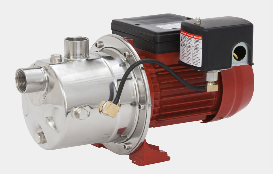 Stainless Steel Shallow Well Jet Pump Rjs 75ss Red Lion