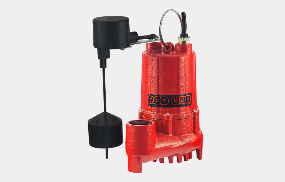 Cast Iron Red Lion RL-SC50T 14942746 Sump Pump with Tethered Float Switch
